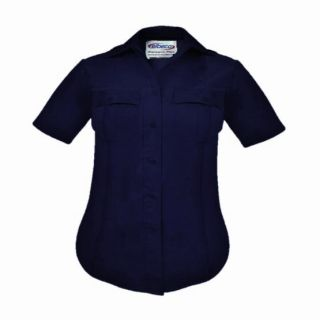 Paragon Plus Poplin Short Sleeve Shirt-Womens-
