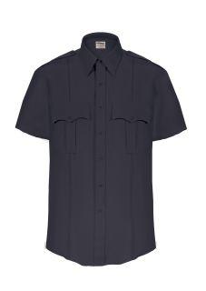 TexTrop2 Short Sleeve Shirt with Hidden Zipper-Mens