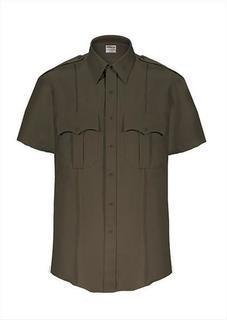 TexTrop2 Short Sleeve Shirt with Hidden Zipper-Mens-