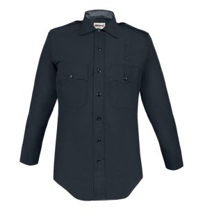 LAPD 100% Wool Heavyweight Long Sleeve Shirt-Mens
