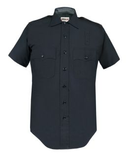 LAPD 100% Wool Short Sleeve Shirts - Mens | Heavy Weight-Elbeco