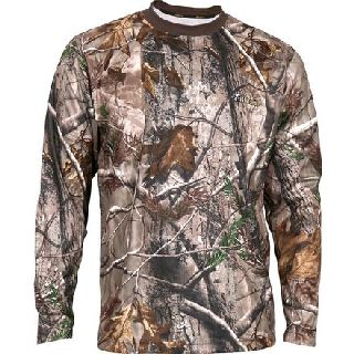600520 Rocky Silenthunter Long-Sleeve Performance Shirt-Rocky Shoes