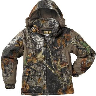 607105 Rocky Junior Prohunter Waterproof Insulated Hooded Jacket-Rocky Shoes