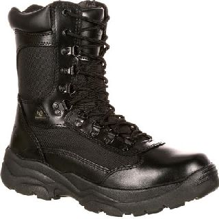 FQ0002149 Rocky Fort Hood Zipper Waterproof Duty Boot