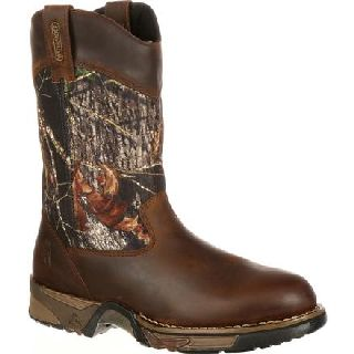 FQ0002871 Rocky Aztec Waterproof Camo Pull-On Boots-Rocky Shoes