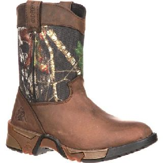 FQ0003639 Rocky Kid's Aztec Wellington Boot-Rocky Shoes
