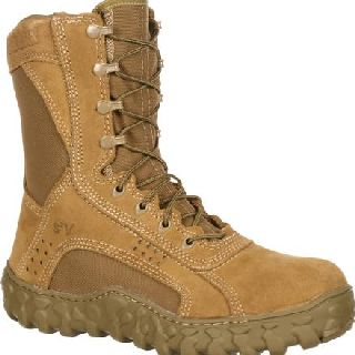 Rocky Shoes Public Safety Footwear Mens FQ0006104 Rocky S2v Steel Toe Tactical Military Boot-Rocky Shoes
