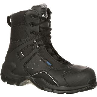 FQ0911113 Rocky 1st Med Carbon Fiber Toe Puncture-Resistant Side-Zip Waterproof Duty Boot-
