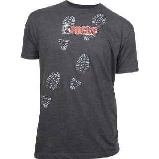 LW00067 Rocky MenS Bootprint T-Shirt-