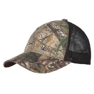 LW00079 Rocky MenS Camo Flex-Fit Mesh Hat-Rocky Shoes