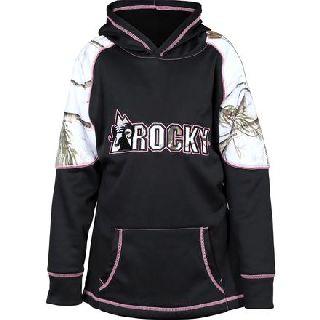 LW00115 Rocky Girls Logo Fleece Hoodie