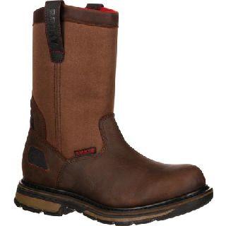 RKK0130 Rocky Hauler Composite Toe Waterproof Pull-On Work Boot-Rocky Shoes