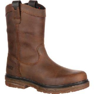 RKK0156 Rocky Elements Shale Steel Toe Waterproof Wellington Work Boot-