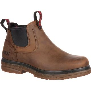 RKK0159 Rocky Elements Shale Steel Toe Internal Met-Guard Waterproof Work Romeo-Rocky Shoes