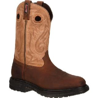 RKW0134 Rocky Original Ride Composite Toe Waterproof 400g Insulated Western Boot-Rocky Shoes