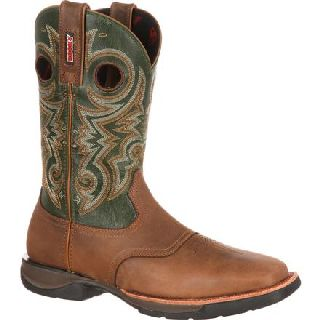 RKW0140 Rocky Lt Saddle Western Boot