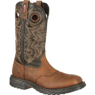 RKW0144 Rocky Original Ride Waterproof Western Saddle Boot-Rocky Shoes