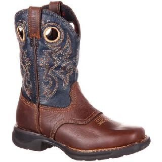 RKW0164 Rocky Lt Big Kid's Waterproof Saddle Western Boot-