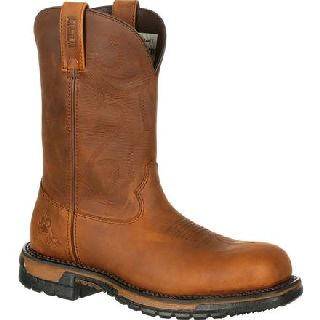 RKW0171 Rocky Original Ride Composite Toe Waterproof Roper Western Boot-