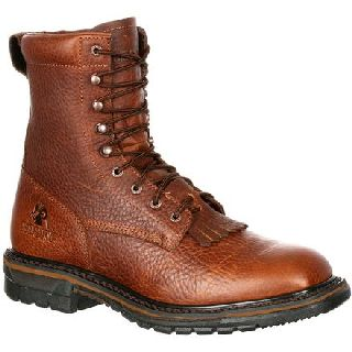 RKW0172 Rocky Original Ride Waterproof Western Lacer Boot-