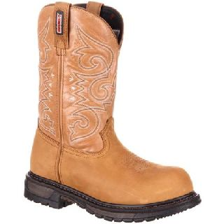 RKW0175 Rocky Original Ride  Composite Toe Waterproof Western Boot