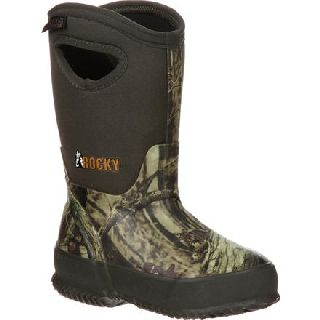RKYS119 Rocky Core Big Kid's Rubber Waterproof 400g Insulated Pull-On Boot