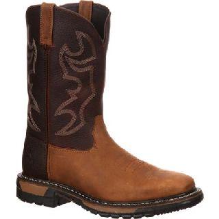 RKYW040 Rocky Original Ride Steel Toe Western Boot-