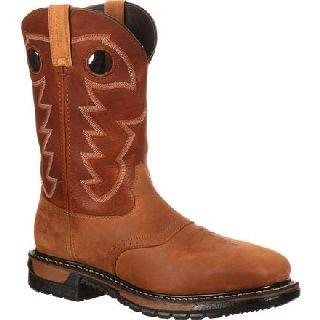 RKYW041 Rocky Original Ride Steel Toe Waterproof Western Boot-Rocky Shoes