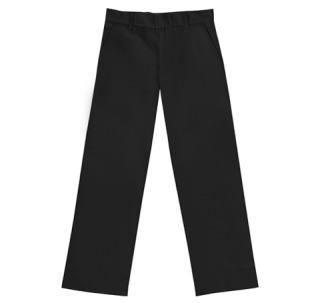 Boys Husky Flat Front Pant-Classroom School Uniforms