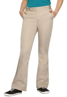 Girls Stretch Moderate Flare Leg Pant-Classroom School Uniforms