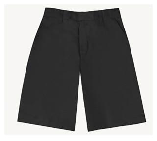 Boys Slim Adj. Waist Flat Front Short-Classroom School Uniforms