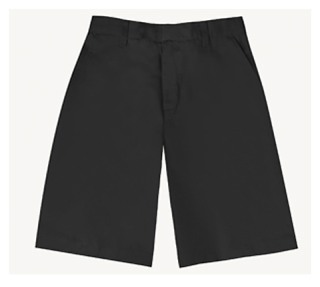 Boys Husky Flat Front Short-Classroom School Uniforms