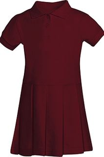Preschool Pique Polo Dress-