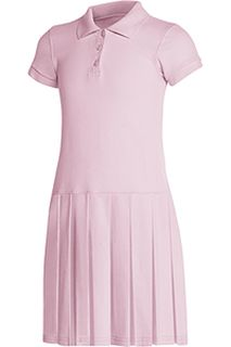 Girls Pique Polo Dress-Classroom School Uniforms