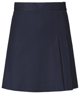Junior Stretch Double-Pleated Scooter-Classroom School Uniforms