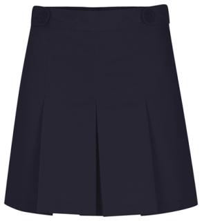 Girls Adjustable Waist Hipster Scooter-Classroom School Uniforms