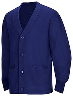 Adult Unisex Cardigan Sweater-Classroom School Uniforms