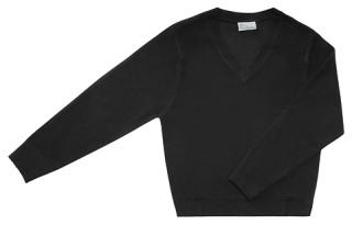 Adult Unisex Long Sleeve V-Neck Sweater-Classroom School Uniforms