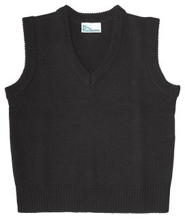 Adult Unisex V-Neck Sweater Vest-Classroom School Uniforms