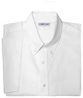 Mens Short Sleeve Oxford Shirt-Classroom School Uniforms