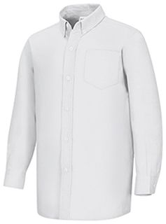 Mens Long Sleeve Oxford-
