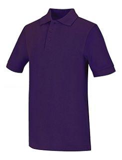 Adult Unisex Short Sleeve Pique Polo-Classroom School Uniforms