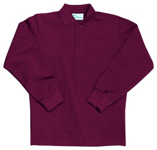 Preschool Long Sleeve Pique Polo-