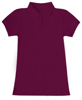Junior SS Fitted Interlock Polo-Classroom School Uniforms
