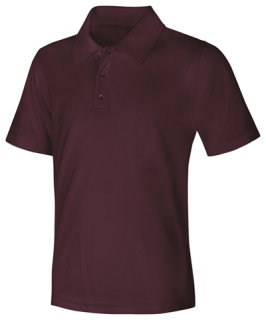 Youth Unisex Moisture-Wicking Polo Shirt-