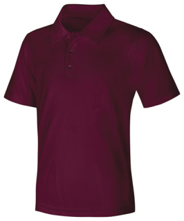 Adult Unisex Moisture-Wicking Polo Shirt-