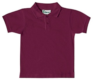 Preschool Unisex SS Interlock Polo-