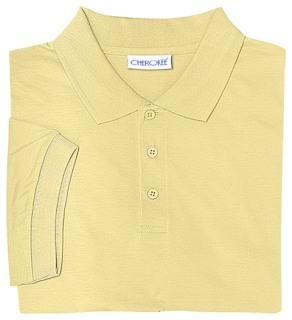 Adult Unisex Short Sleeve Interlock Polo-Classroom School Uniforms