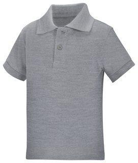 Preschool Unisex Short Sleeve Pique Polo-Classroom School Uniforms