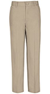 REAL SCHOOL Boys Flat Front Pant-REAL SCHOOL Uniforms